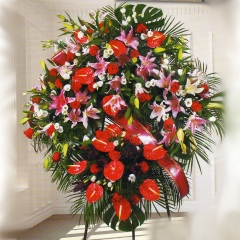 Corona funeraria superior