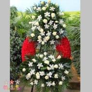 Corona Rosas y Orquideas