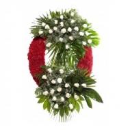Corona 36 Rosas Blancas