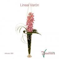 Jarrón Orquídeas Lineal